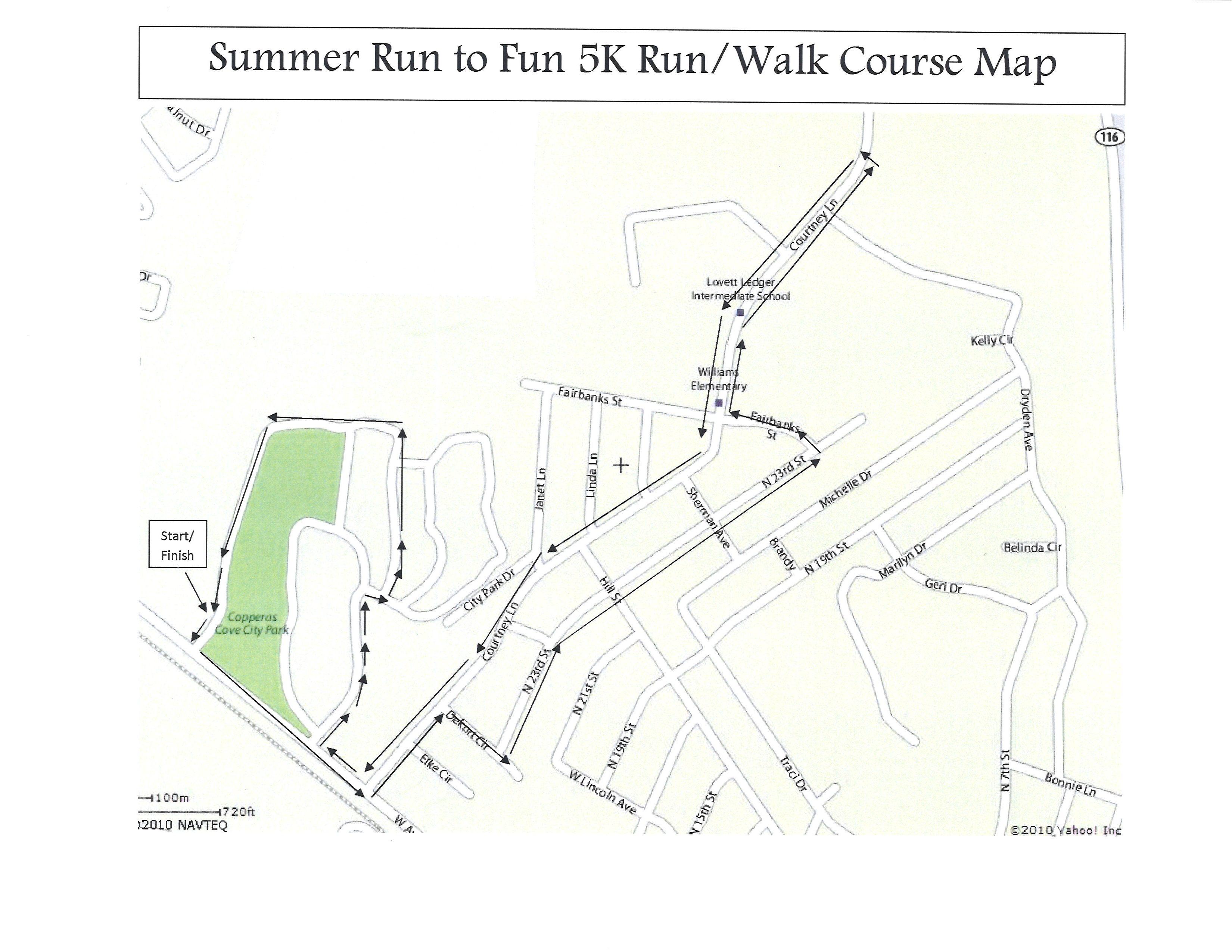 Updated_Summer Run to Fun City Park Map