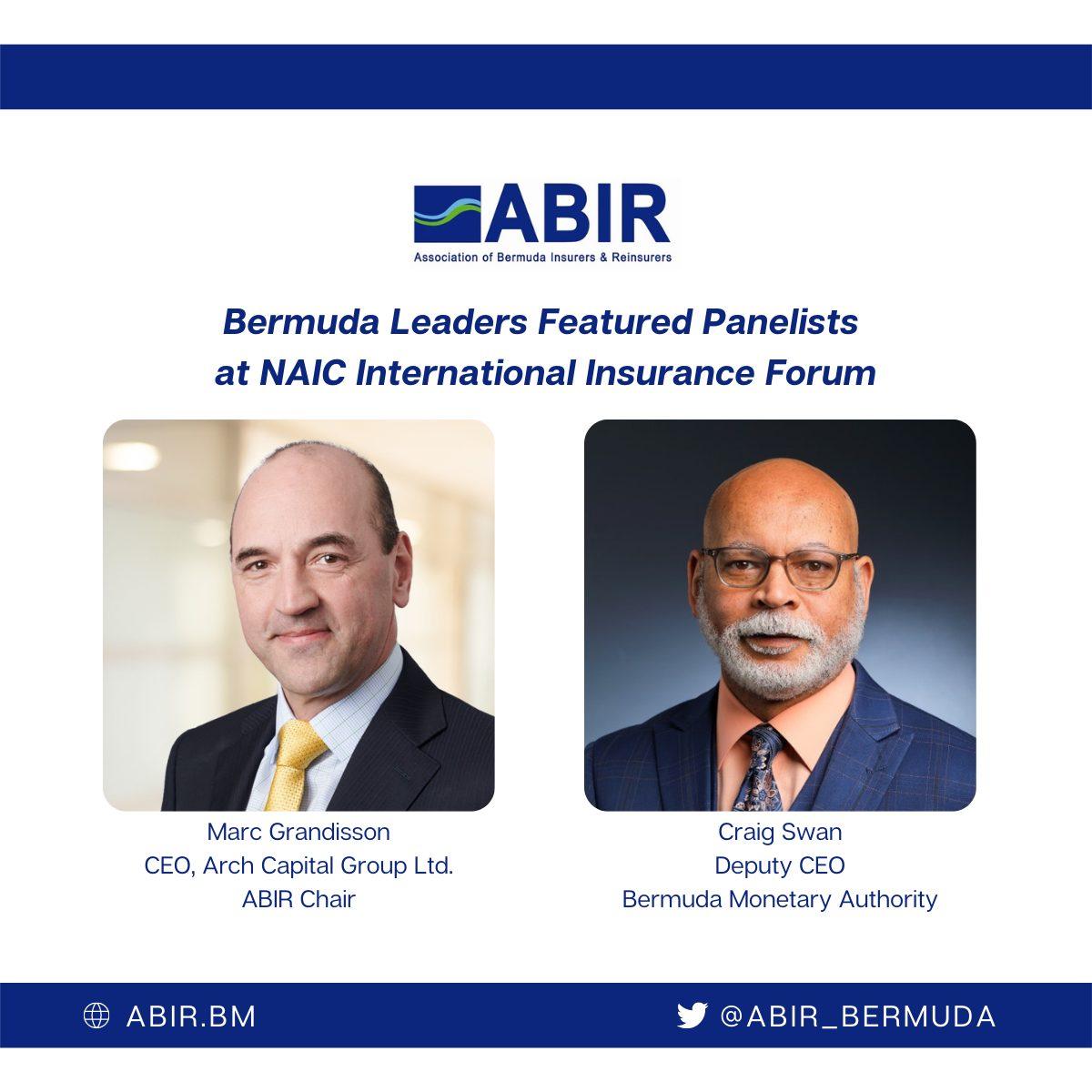 Bermuda Leaders Featured at NAIC Forum (2)