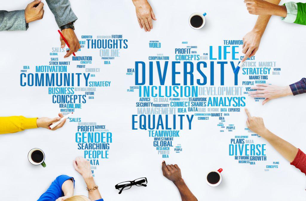 Diversity World Map
