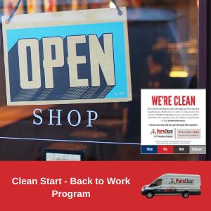 Clean Start Back to Work Program