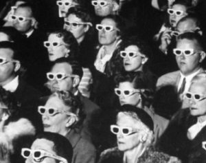 Viewers at 3D Movie