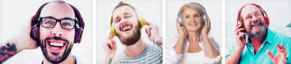 Everyone uses headphones