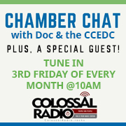 Chamber Chat on Colossal Radio