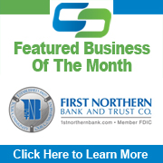 CCEDC Featured Business of the Month First Northern Bank & Trust
