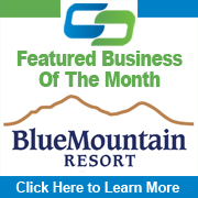 CCEDC Featured Business of the Month Blue Mountain Resort