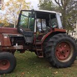 Maroon tractor at Carbon County Oktoberfest 2019