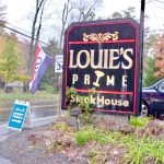 Louies Prime SteakHouse exterior sign