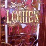 Louies Prime interior signage