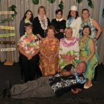 The Events Committee at the CCEDC Hawaiian Luau Awards Gala.