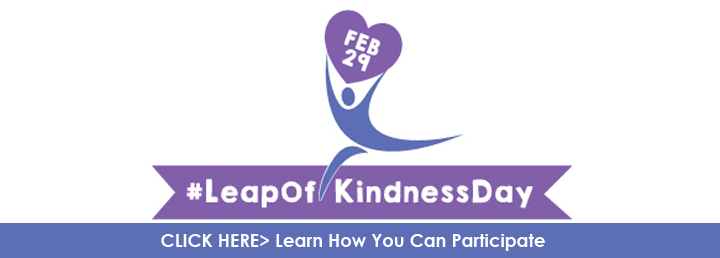 Leap of Kindness Day Click Thru banner