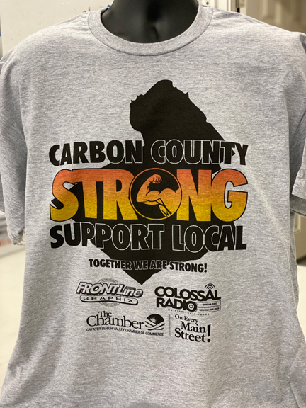 Carbon Strong Support Local T-Shirt