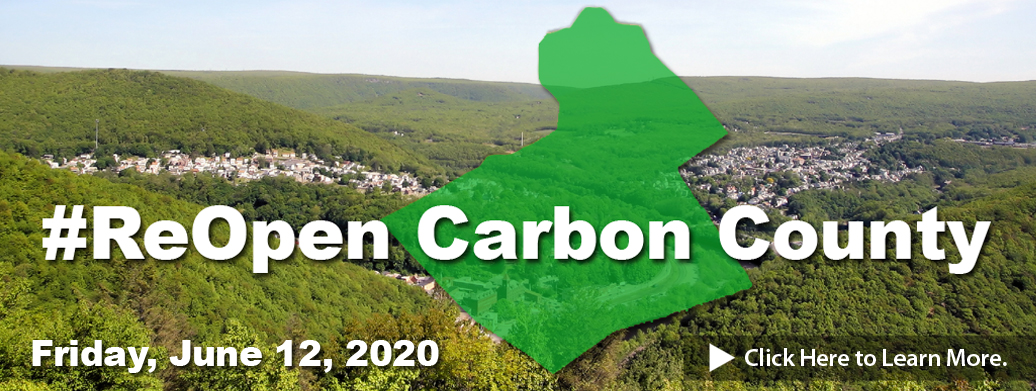 #ReOpen Carbon County Green Phase
