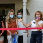 Iron Valley Real Estate ribbon cutting