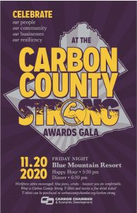Save the Date- Carbon County Strong Awards Gala