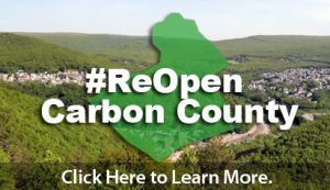#ReOpen Carbon County Banner