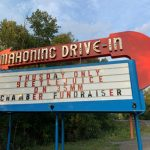 Mahoning Drive-In Marquee Beetlejuice