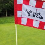 Split Rock Golf Club hole flag