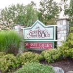 split rock country club marquee sign