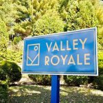 Valley Royale Sign