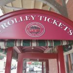 Trolley tickets marquee