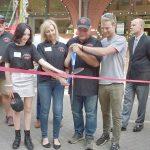 Ribbon cutting ceremony Jim Thorpe Trolley Co