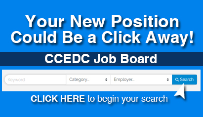 Your New Position Could be a Click away- CCEDC Job Board