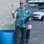 Kathy Henderson outside Dog Wash