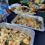 Food Table at Mansions Mixer