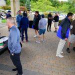 Golfers networking