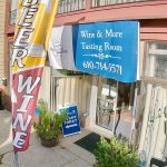 Wine & More sign and exterior of store