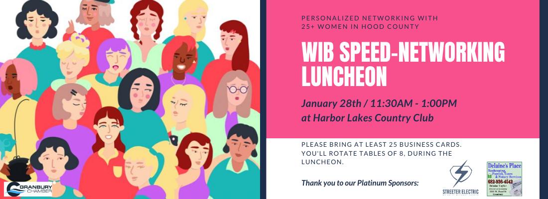 WIB luncheon