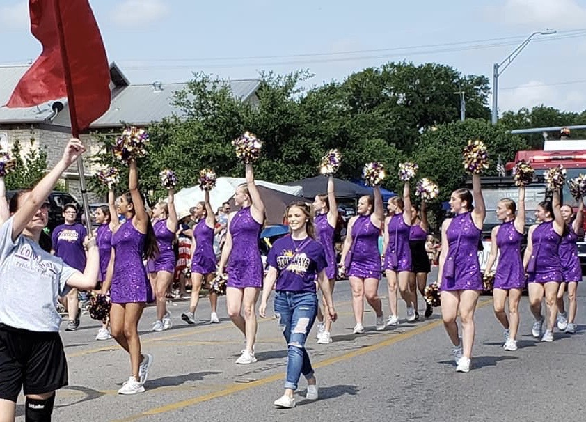 GHS Stowaways in July 4th Parade
