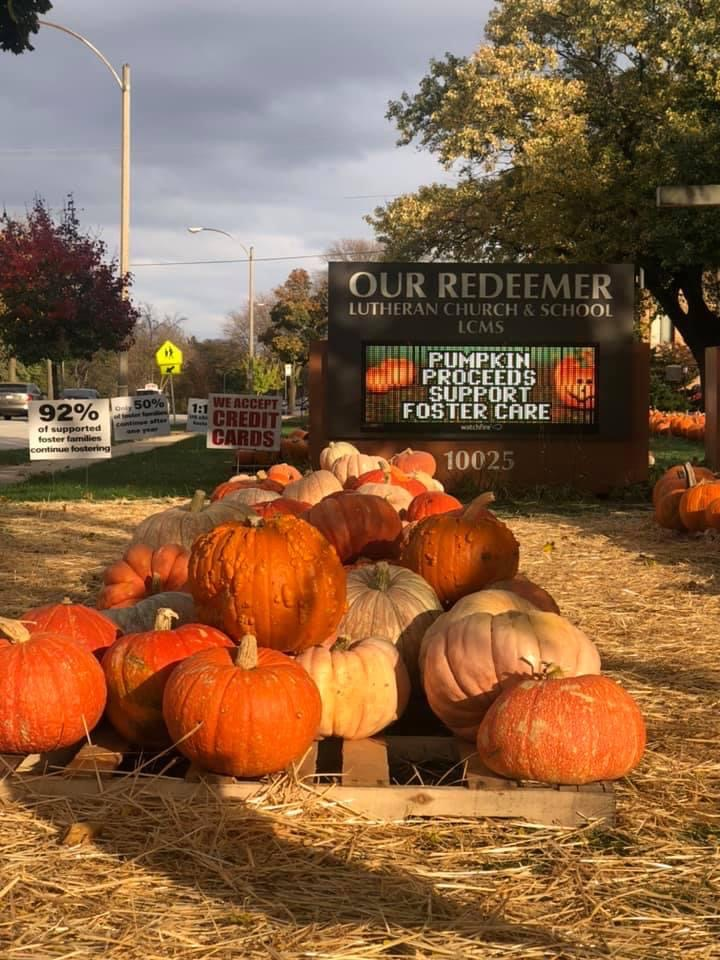 Our Reedemer Pumpkin Patch ad
