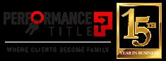 Performance title 2020 logo