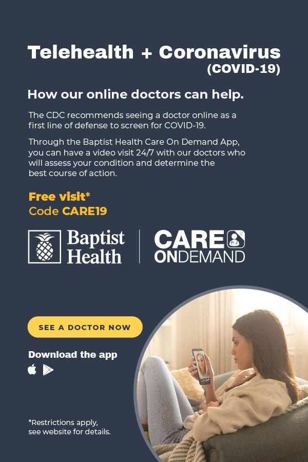 baptist health covid