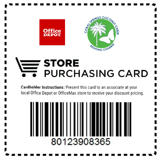office depot store purchasing card