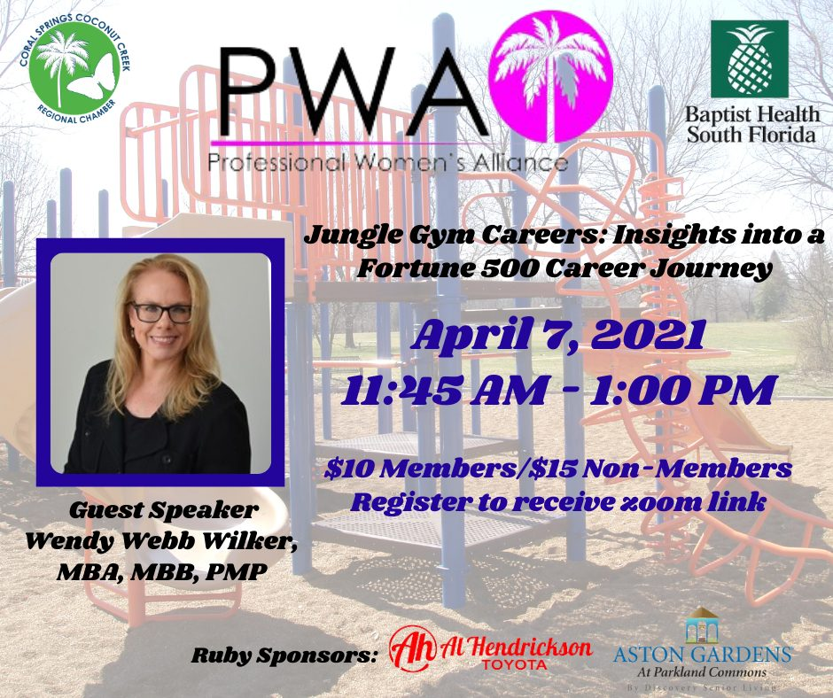 Professional Women's Alliance Virtual Event Graphic