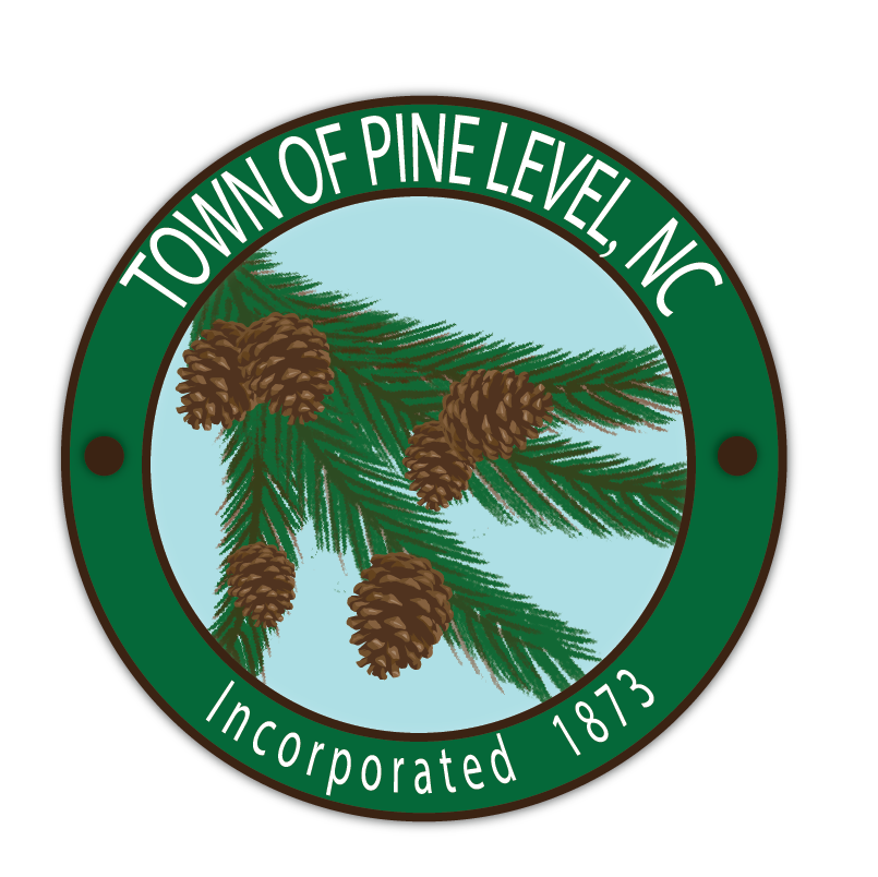 Town of Pine Level Logo Green and blue (1)