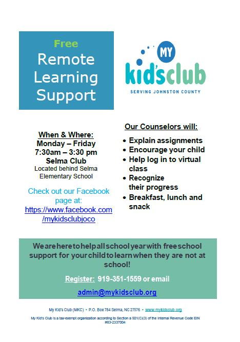 a kids club opportunity
