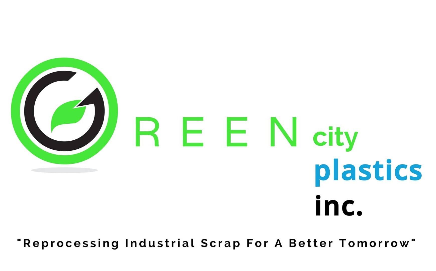 Green City Plastics - logo wtagline