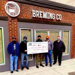 DineYQG Week 3 winners, Craft Heads Brewing and TWEPI CEO, Gordon Orr