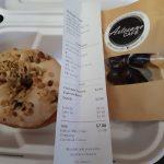DineYQG Week 7 - Ryan C's sweet order from Artesano Cafe