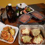 DineYQG Week 10 winner - Lorri's meal from La Guardia Italian Cuisine