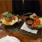 DineYQG Week 9 winner, Trish's meal from The Grove Brew House in Kingsville
