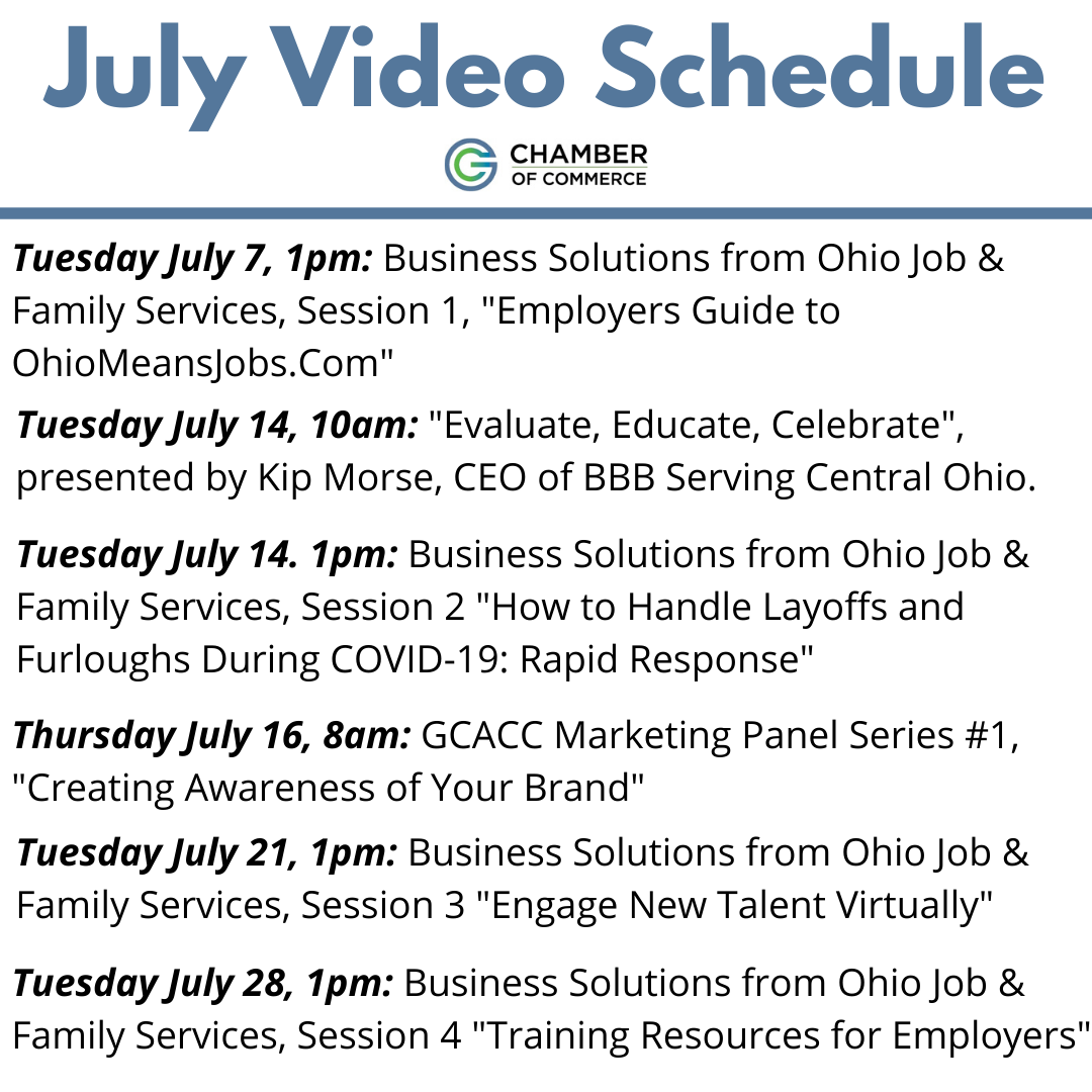 July Vid Schedule_WithTimes