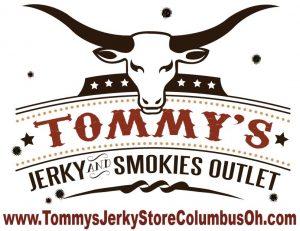 11.27.17 Tomm's Jerky Logo - Tommy's Jerky Outlet Grove City Ohio