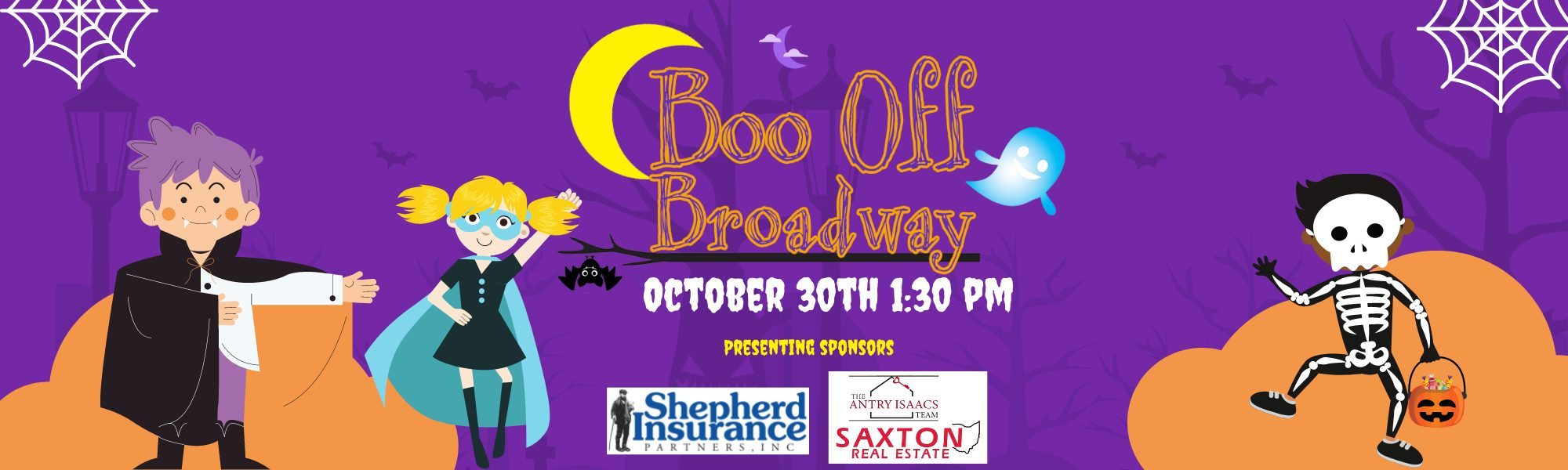Boo off broadway graphic Banner (2)