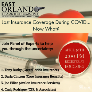 Lost Insurance Coverage During COVID-19