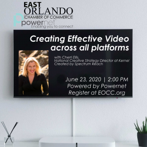 Creating Effective Video across all platforms with Cherri Ellis