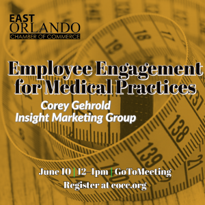 Employee Engagement for medical practices with Corey Gehrold